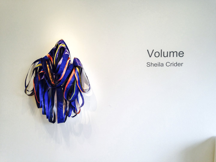 Volume by Sheila Crider at the Honfleur Gallery