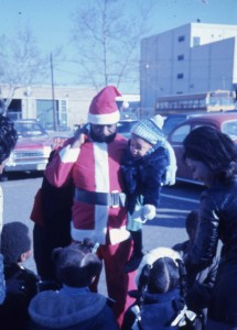 Anacostia's Own Santa, circa 1970, Anacostia Community Museum Archives, Smithsonian Institution. Photo taken by Zora Martin Felton.