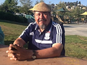 Raul Macias, founder of The Anahuak Youth Soccer Association in Rio de Los Angeles State Park June 2013