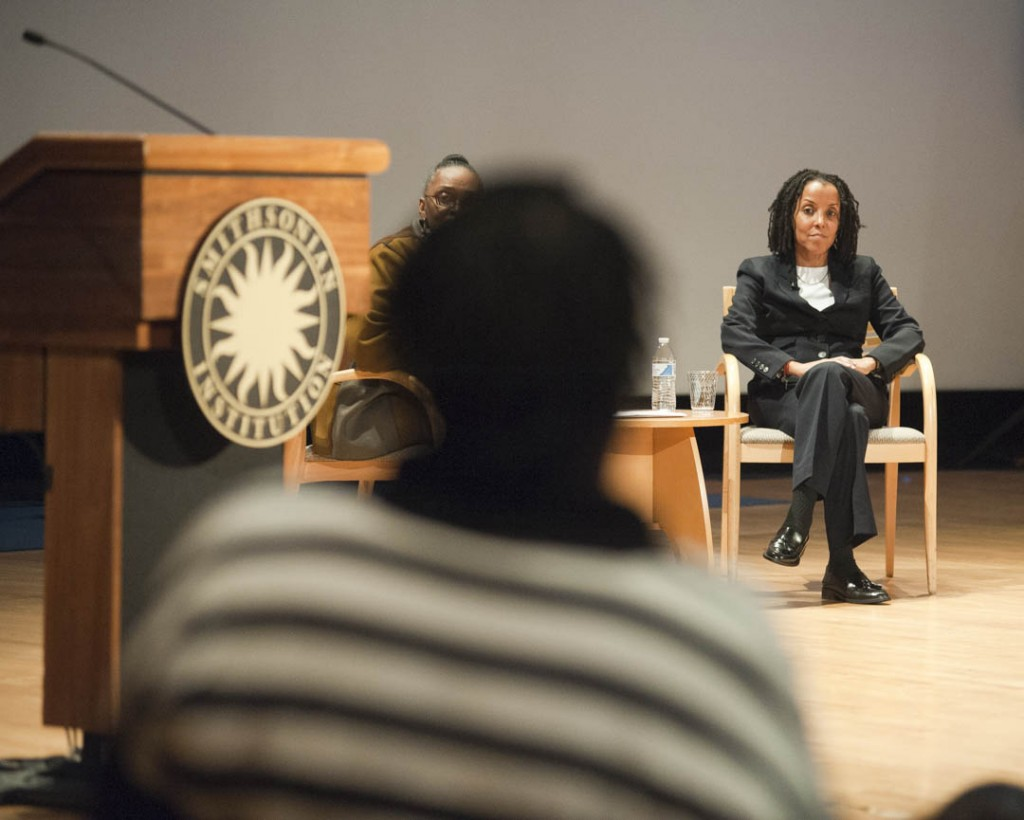 January 16, 2015 - Keynote speaker Kica Matos, Director of Immigrant Rigths and Racial Justice at the Center for Community Change at the 30th annual Martin Luther King Jr. Program of the Anacostia Community Museum.