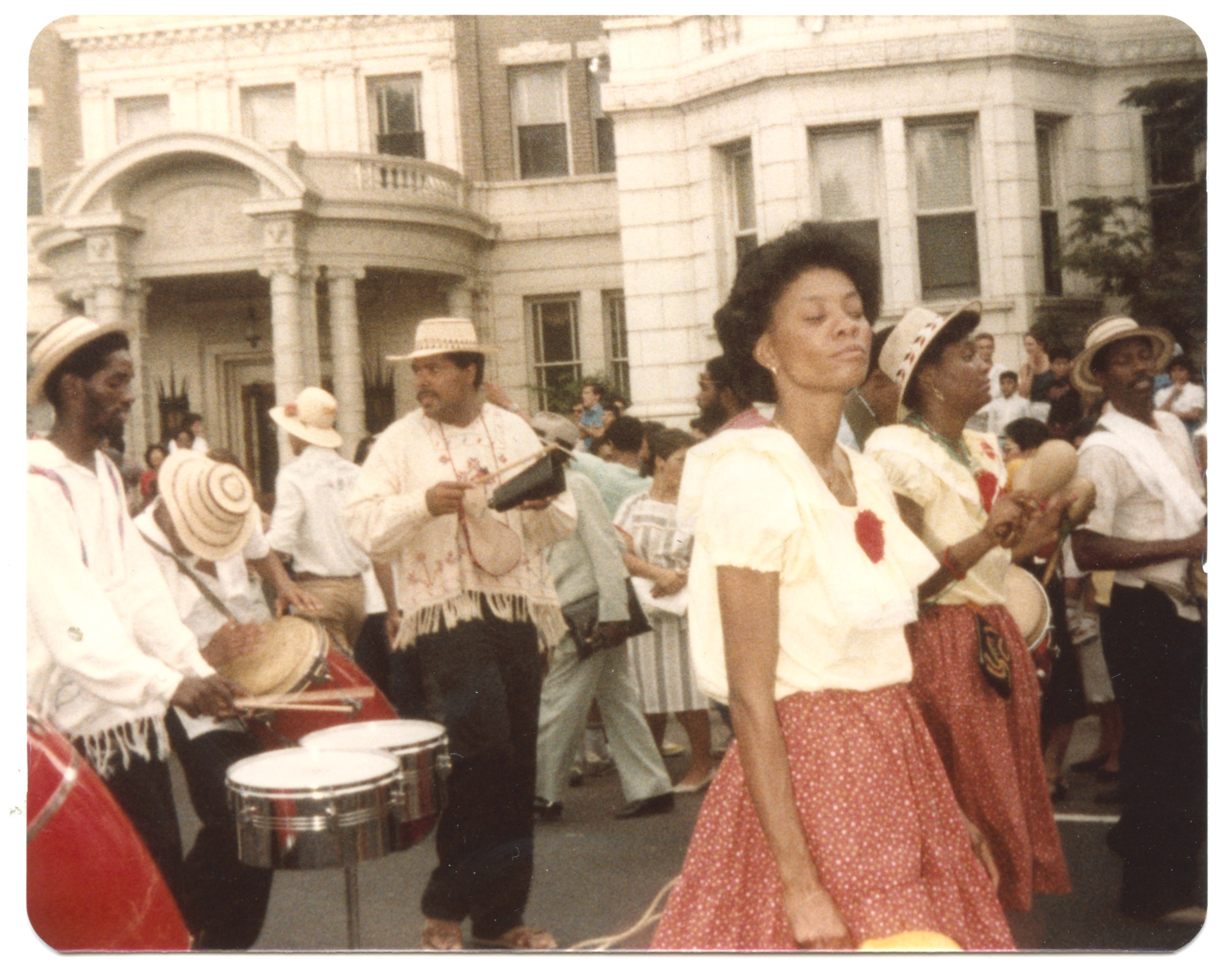 "Despite its small population, Panama had the largest percentage and number of Central American immigrants to the U.S. in the 1960s and 1970s. During this time, the Panamanian community in the Washington, D.C., area began to flourish. International work, federal employment, and the plethora of cultural activities are major reasons why Panamanians continue to make the D.C. metro ""home.""  Image courtesy of Winston ""Alex"" Taylor"