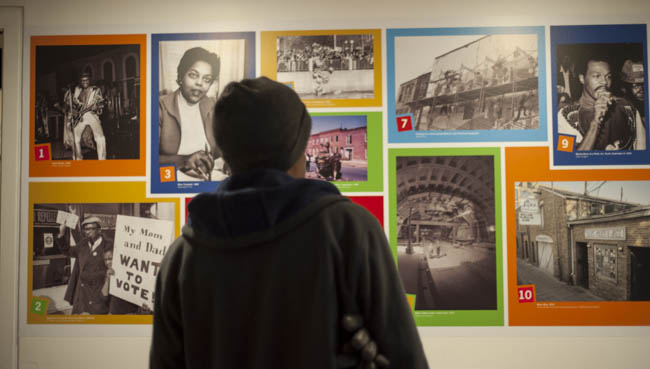 The Anacostia Community Museum exhibit, Twelve Years that Changed Washington. Photo by Susana Raab/Anacostia Community Museum/Smithsonian Institution