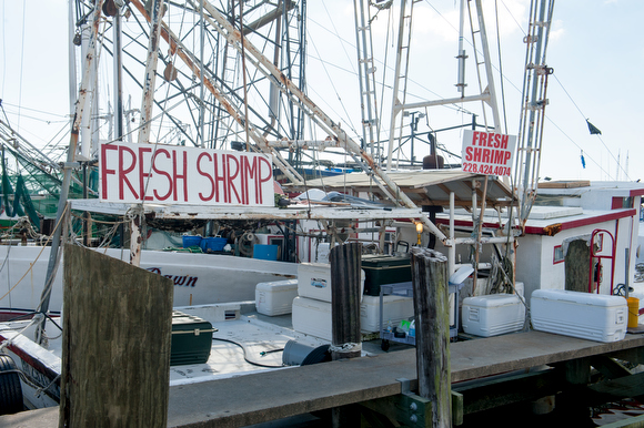December 7, 2015 - Biloxi, Mississippi - The Biloxi Small Craft Harbor where local shrimpers dock their boats on the Biloxi coast. Photo by Susana Raab/Anacostia Community Museum/Smithsonian Institution