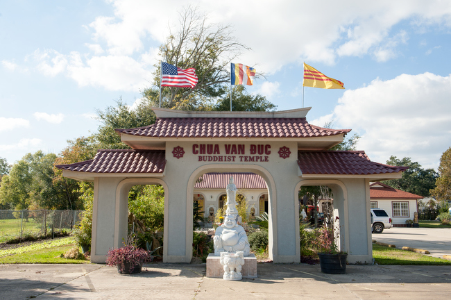December 7, 2015 - Biloxi, Mississippi - The Chua Van Duc Buddhist Temple in Biloxi Mississippi. Photo by Susana Raab/Anacostia Community Museum/Smithsonian Institution