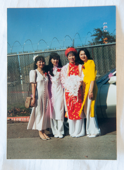 Personal photographs of members of the Vietnamese community in Biloxi, Mississippi courtesy of Mickey Sou Photo credit: Courtesy of Mickey Sou