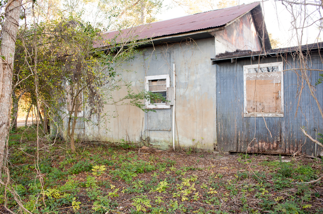 December 8, 2015 - The former office of the Creosote Plant in Turkey Creek, MIssissippi. Photo by Susana Raab/Anacostia Community Museum/Smithsonian Institution