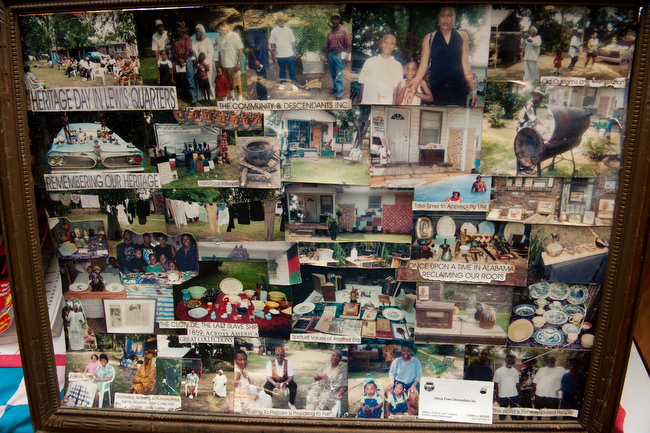 December 11, 2015 - A historical exhibit in Africatown near Mobile, Alabama. Photo by Susana Raab/Anacostia Community Museum/Smithsonian Institution