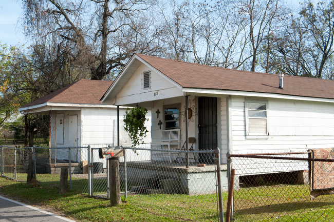 December 11, 2015 -Homes in Africatown, Alabama. Photo by Susana Raab/Anacostia Community Museum/Smithsonian Institution