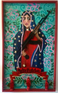 Madre Protectora by Rosalia Torres-Weiner. Collection of the Anacostia Community Museum, Smithsonian Institution