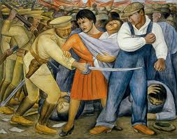 The Uprising by Diego Rivera, 1931
