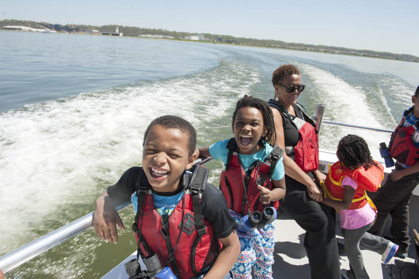 The Museum Academy Explores the Anacostia River with the Chesapeake Bay Foundation